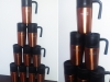 Kubki termiczne wykonane z aluminium z grawerowanym logo Samorządu Studentów Politechniki Warszawskiej. Logo SSPW zostało wypalone laserem w powłoce kubka. Kubki termiczne z logo firmowym są niezwykle praktycznym i cenionym przez klientów gadżetem.