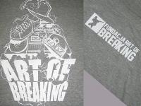 Koszulki z nadrukiem firmowym - Fundacja Art of Breaking. Koszulki z logotypem Łódź. Koszulki firmowe Płock