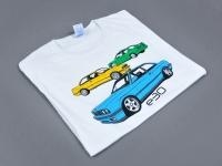 T-shirt z logo BMW. Koszulki z własną grafiką. Koszulka dla fana marki BMW. Własny nadruk wysokiej jakości, Płock