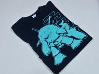 Koszulka z nadrukiem. Sitodruk w jednym kolorze. Koszulki z własną grafiką