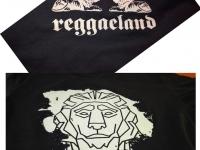 Koszulki na Reggaeland 2016. Koszulki drukowane wywabem na płocki festiwal Reggaeland 2016.