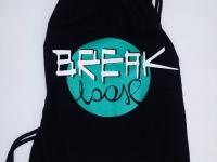 Worko-plecak bawełniany z firmowym nadrukiem. Worek na buty, strój sportowy, kimono itp. Workoplecak z nadrukiem sitem - logo klubowe, firmowe itp. Workoplecaki Break Loose Płock