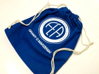 Football Education Academy worko-plecaki Worek plecak sportowy z nadrukiem, logo. Plecaki worki z własnym logo, grafiką na ubrania, siłownie, ubrania. Płock